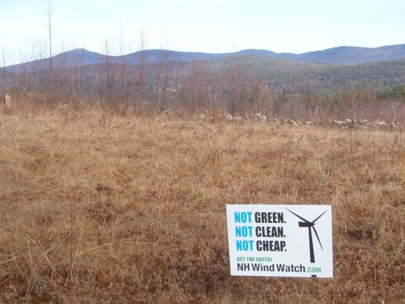 wind watch sign