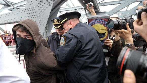 Occupy protester arrest