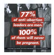 pro life are men