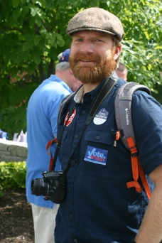 Eric Zulaski, activist and current employee with