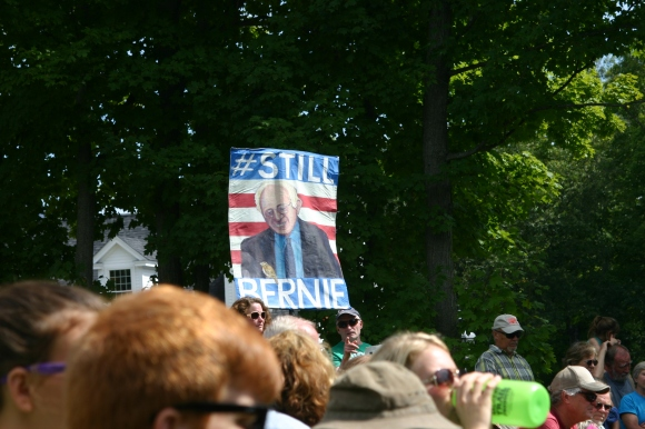 Bernie sign